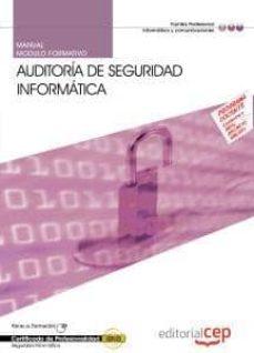 Concursopiedraspreciosas.es Manual Auditoria De Seguridad Informatica (Mf0487 3) (Certificado S De Profesionalidad) Image