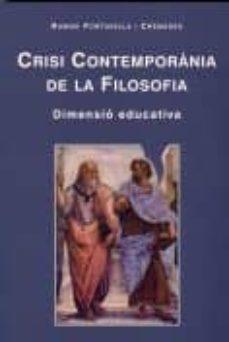 Enmarchaporlobasico.es Crisi Contemporania De La Filosofia (Dimensio Educativa) Image