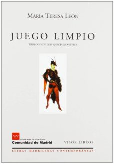 juego limpio-maria teresa leon-9788475228044