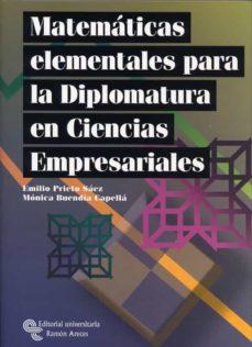 Chapultepecuno.mx Matematicas Elementales Para Diplomatura En Ciencias Empresariale S Image