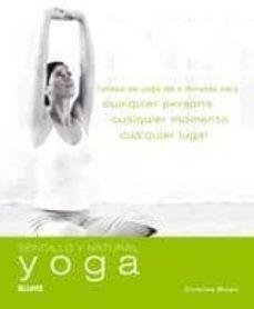 yoga: rutinas de yoga de 5 minutos para cualquier-christina brown-9788480767644