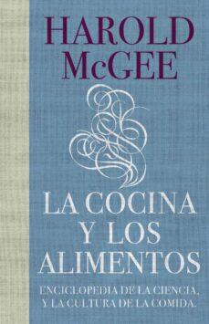la cocina y los alimentos-harold mcgee-9788483067444