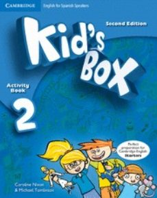 kid s box 2 for spanish speakers activity book with cd-rom and language portfolio 2nd edition-9788483239544