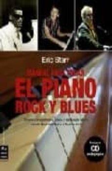 manual para tocar el piano rock y blues-eric starr-9788496924444