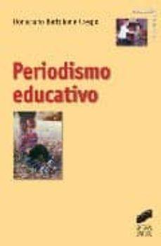 periodismo educativo-donaciano bartolome crespo-9788497562744