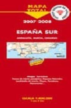 Relaismarechiaro.it España Sur 2007-2008: Mapa De Carreteras (1:400000) Image
