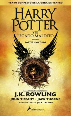 Descarga de archivos txt Ebook HARRY POTTER Y EL LEGADO MALDITO RTF DJVU ePub in Spanish