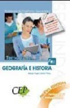 Garumclubgourmet.es Cuerpo De Profesores De Enseñanza Secundaria. Geografia E Histori A. Temario Oposiciones (Vol. Iii) Image