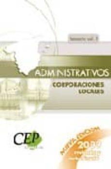 Titantitan.mx Administrativos De Corporaciones Locales (Temariovol. Ii) Image