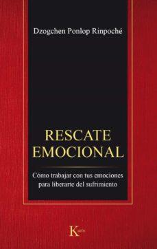 rescate emocional-dzogchen ponlop rimpoche-9788499885544