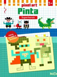 Upgrade6a.es Pixel Art Pinta - Superherois Image