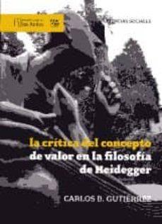 Permacultivo.es La Critica Del Concepto De Valor En La Filosofia De Heidegger Image