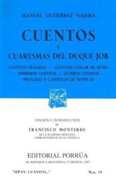Cdaea.es Cuentos Y Cuaresmas Del Duque Job (10ª Ed.) Image