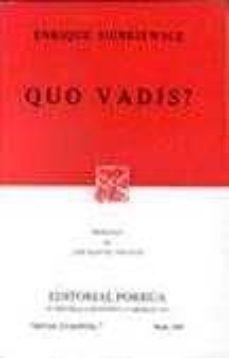 Eldeportedealbacete.es Quo Vadis (9ª Ed.) Image