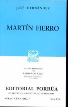 Titantitan.mx Martin Fierro (11ª Ed.) Image