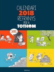 Titantitan.mx Calendari 2018 Refranys Per A Tothom Image
