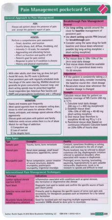 Ebook ita descarga pdf PAIN MANAGEMENT POCKETCARD SET