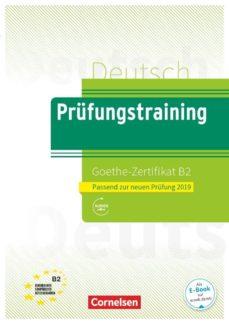 Descargas gratuitas de libros digitales. PRÜFUNGSTRAINING GOETHE-ZERTIFIKAT B2 CHM RTF