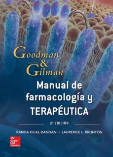 Descarga de foro de libros electrónicos MANUAL GOODMAN Y GILMAN. BASES FARMACOLÓGICAS