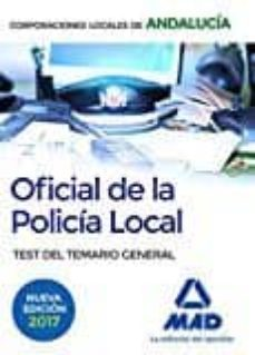 Concursopiedraspreciosas.es Oficial De La Policia Local De Andalucia. Test Del Temario General Image