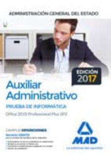 Encuentroelemadrid.es Auxiliar Administrativo De La Administracion General Del Estado. Prueba De Informatica Office 2010 Professional Plus Sp2 Image