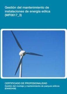 Bressoamisuradi.it Gestión Del Mantenimiento De Instalaciones De Energía Eólica(mf 0617_3) Image