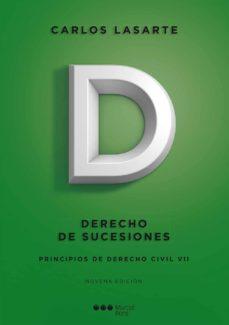 Titantitan.mx Principios De Derecho Civil (Tomo Vii): Derecho De Sucesiones (9ª Ed.) Image