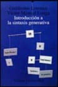 Costosdelaimpunidad.mx Introduccion A La Sintaxis Generativa: La Teoria De Principios Y Parametros En Evolucion Image