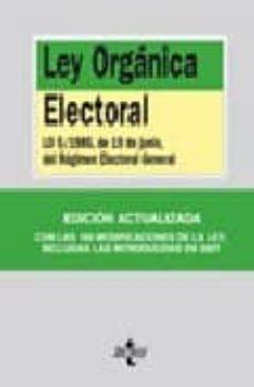 Followusmedia.es Ley Organica Electoral Lo 5/1985, De 19 De Junio, Del Regimen Ele Ctoral General Image