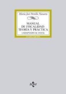 Srazceskychbohemu.cz Manual De Fiscalidad: Teoria Y Practica (Adaptado Al Eees) Image