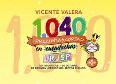 1040 preguntas cortas en «cuquifichas» lrjsp-vicente valera-9788430976454