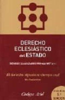 Debatecd.mx Derecho Eclesiastico Del Estado (5ª Ed.) Image