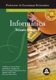Titantitan.mx Profesores De Enseñanza Secundaria, Informatica: Temario B Comun Image