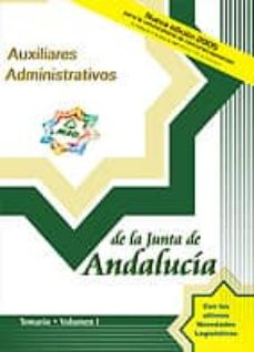 Inmaswan.es Auxiliares Administrativos De La Junta De Andalucia: Temario (Vol . I) Image