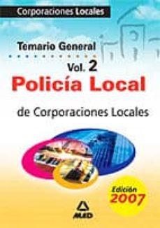 Carreracentenariometro.es Policia Local: Corporaciones Locales: Temario General Vol. 2 Image