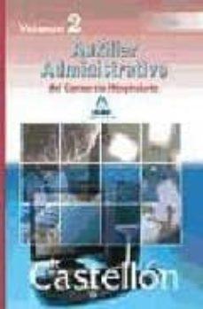 Carreracentenariometro.es Auxiliares Administrativos Del Consorcio Hospitalario De Castello N: Temario (Vol. Ii) Image