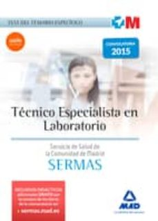 Bressoamisuradi.it Técnico Especialista En Laboratorio Del Servicio De Salud De La Comunidad De Madrid. Test Del Temario Específico Image