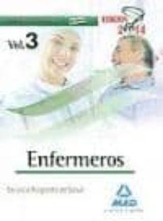 Debatecd.mx Enfermeros Del Servicio Aragones De Salud: Temario Específico (Vo L. Iii) Image