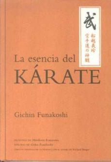 la esencia del karate-gichin funakoshi-9788479028954