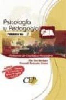 Costosdelaimpunidad.mx Temario Oposiciones Vol. I. Cuerpo De Profesores De Enseñanza Sec Undaria. Psicologia Y Pedagogia Image