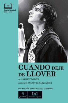 Descarga de libros gratis en línea. CUANDO DEJE DE LLOVER CHM PDF RTF