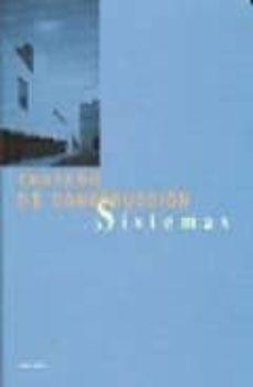 tratado de construccion: sistemas-9788489150454