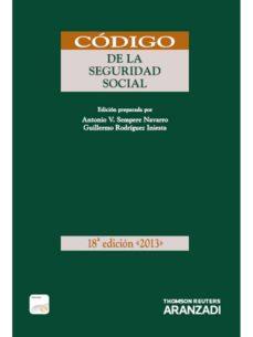 Inmaswan.es Codigo De La Seguridad Social (18ª Ed) Image