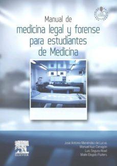 Descargas de libros de la selva MANUAL DE MEDICINA LEGAL Y FORENSE PARA ESTUDIANTES DE MEDICINA de JOSE ANTONIO MENENDEZ DE LUCAS