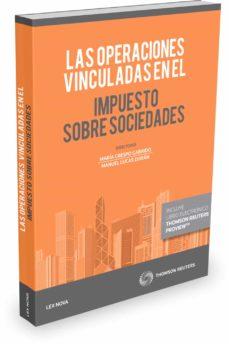 Descargar LAS OPERACIONES VINCULADAS EN EL IMPUESTO SOBRE SOCIEDADES gratis pdf - leer online