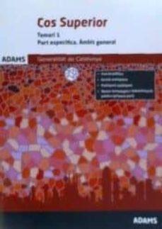 Inmaswan.es Temari 1 Cos Superior Part Especifica (ÁMbit General) De La Generalitat De Catalunya Image