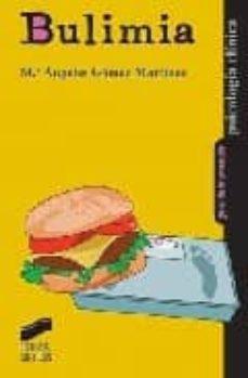 bulimia-maria angeles gomez martinez-9788497564854