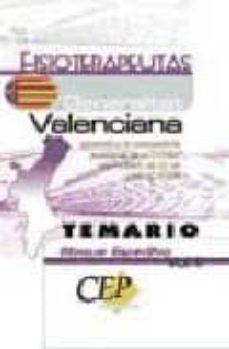 Inmaswan.es Fisioterapeuta De La Generalitat Valenciana. Temario. Bloque Espe Cifico (Vol. Ii) Image