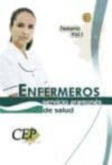 Cronouno.es Oposiciones Enfermeros Servicio Aragones De Salud. Temario (Vol. I) Image