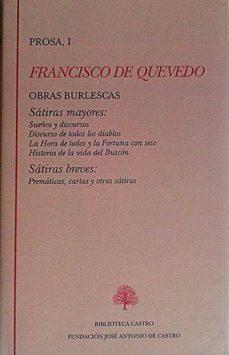 Chapultepecuno.mx Francisco De Quevedo. Prosa I Image
